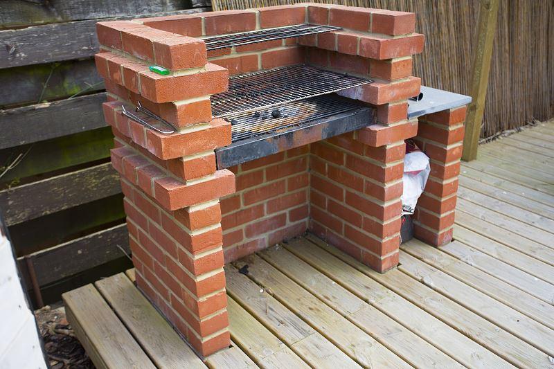 Grill ogrodowy - jak zbudować murowany grill krok po kroku 2
