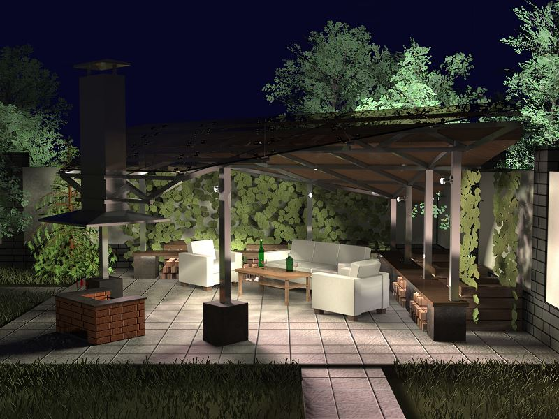 Oświetlenie altany ogrodowej - jakie lampy sprawdzą się najlepiej? 2