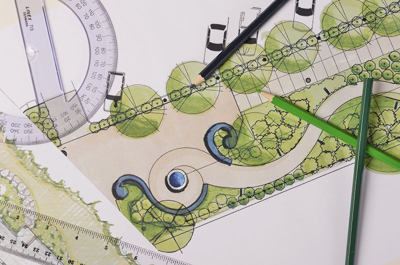 Dobry pomysł na ogród? Oto kilka ciekawych pomysłów i projektów ogrodów przydomowych 3