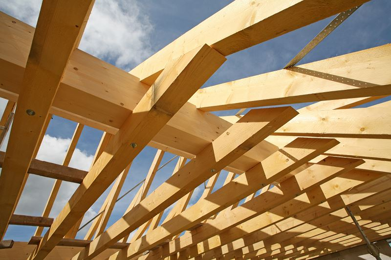 Budowa dachu - główne etapy konstrukcji dachu 2