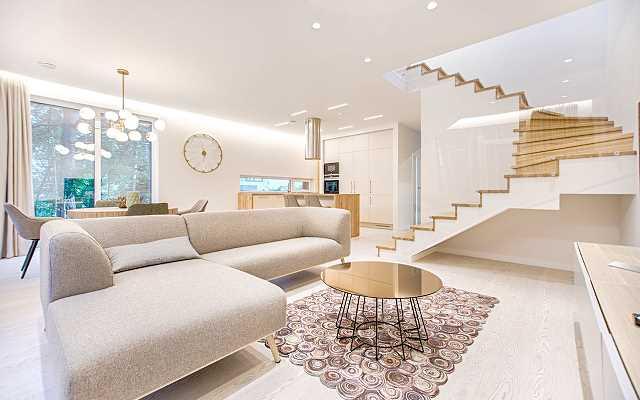 Biała podłoga w mieszkaniu