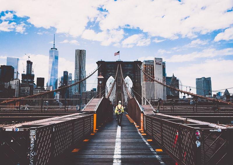 Konstrukcja stalowa mostu