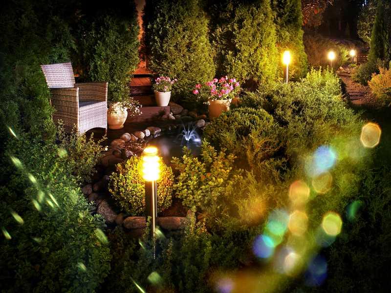 Lampy do ogrodu