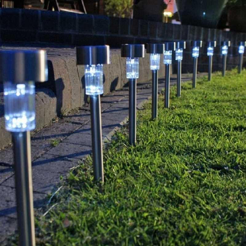 Lampy ogrodowe LED
