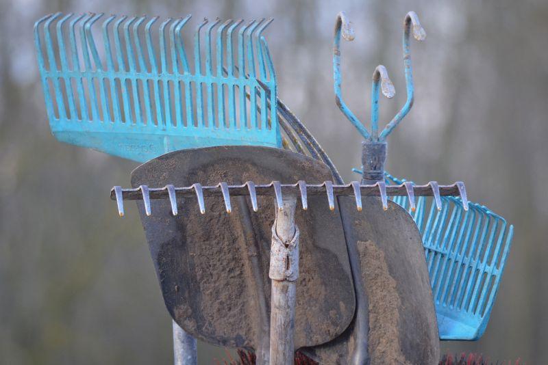 Podstawowe narzędzia ogrodowe