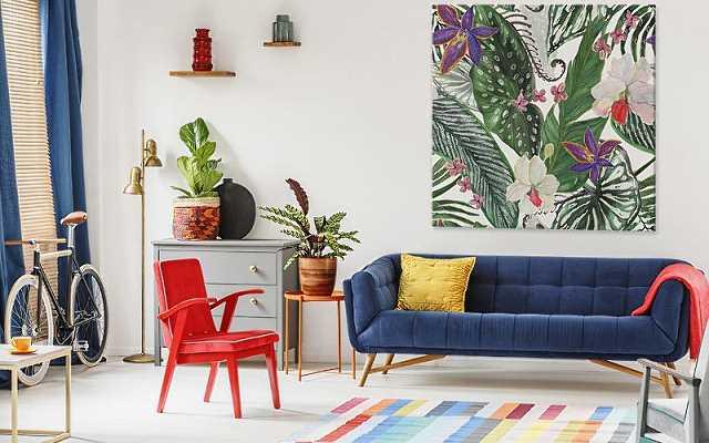 Obrazy z kwiatami – dekoracja do każdego pomieszczenia