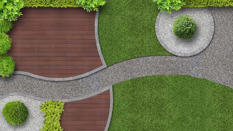 Nowoczesne ogrody - projekty, pomysły, przykładowe aranżacje, porady