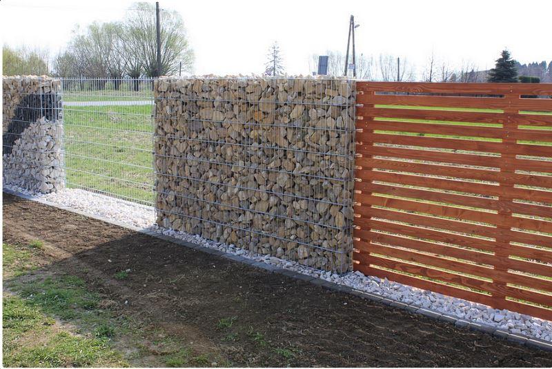 realizacja 1 - ogrodzenie gabinowe HDTON