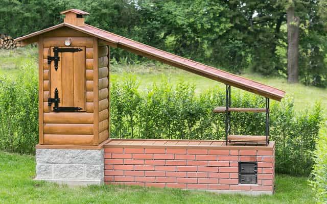 Wędzarnia ogrodowa - budowa krok po kroku - praktyczna instrukcja