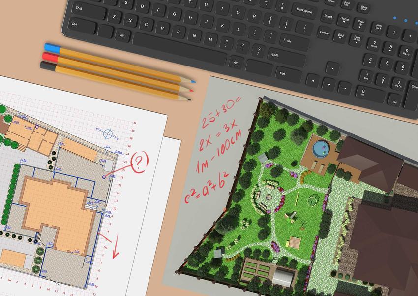Dobry projekt ogrodu uwzględnia bardzo wiele różnych aspektów, także dostęp do roślin. Dobrze zaprojektować wszystko w programie komputerowym.