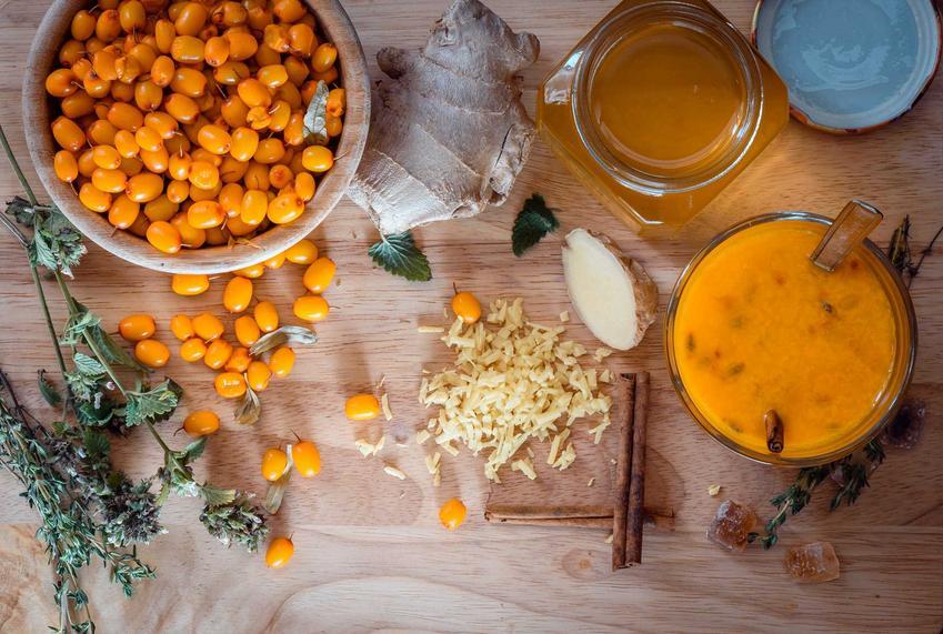 Nalewka z rokitnika robi się z przemrożonych owoców, mają kwaśny smak. Nalewka ma ładny pomarańczowy kolor, a przepis nie jest trudny.