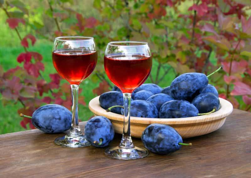 Nalewka śliwkowa o słodkim smaku na spirytusie wraz z przepisem i poradami dotyczącymi przygotowania nalewki