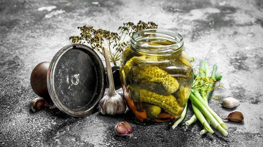Przetwory z ogórków w słoikach oraz przepisy na przetwory z ogórków, w tym popularne ogórki konserwowe