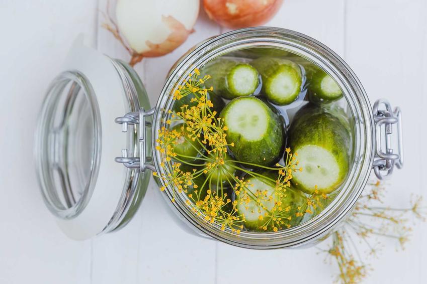 Ogórki konserwowe w słoikach oraz smaczny i prosty przepis na ogórki konserwowe, inaczej ogórki marynowane w zalewie octowej