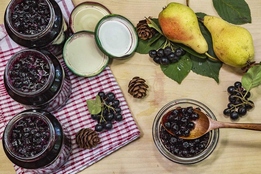 Dżem z aronii i gruszek w słoikach oraz najlepsze przepisy na smaczne przetwory z aronii, konfitury, soki i kompoty