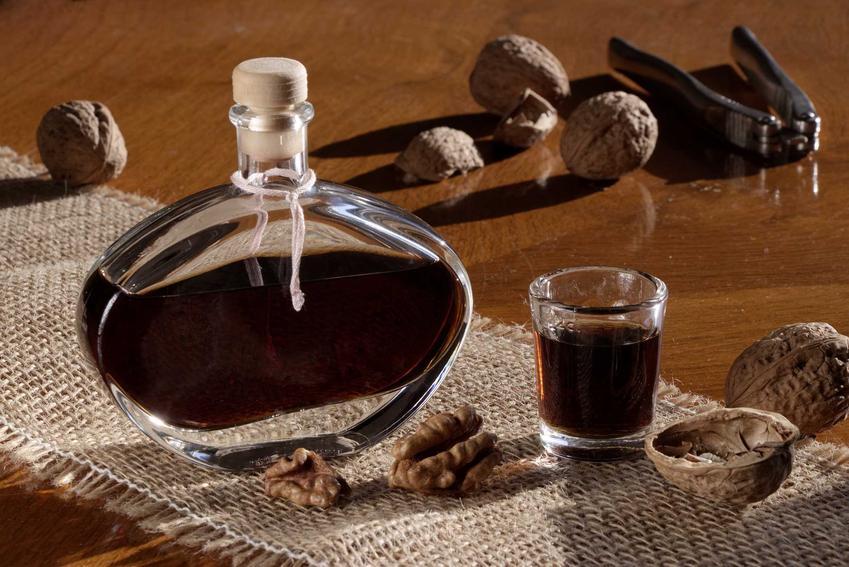 Nalewka z orzechów włoskich dojrzałych w butelce oraz najlepsze domowe przepisy na nalewkę orzechową