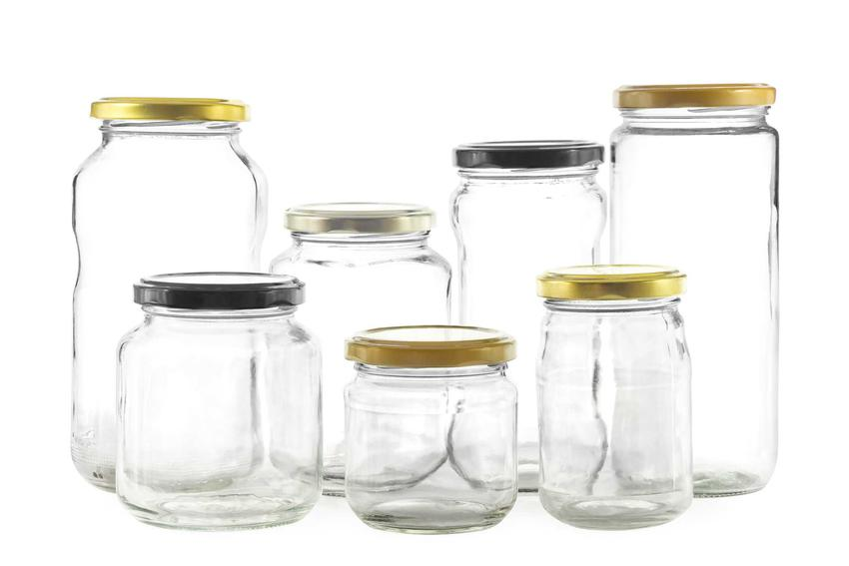 Puste słoiki na przetwory, w tym słoiki na konfitury czy też ozdobne słoiki, słoiczki i pojemniki na dżemy i inne przetwory