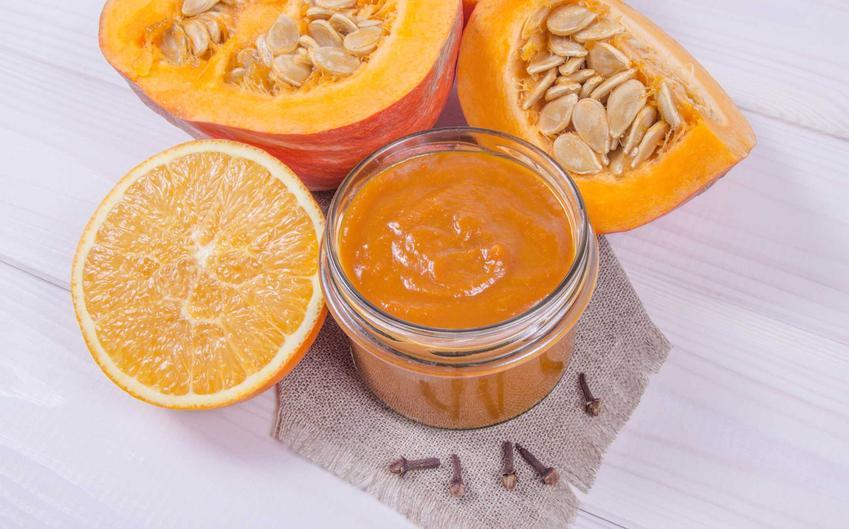 Konfitura z dyni czy też dżem z dyni w słoiczku oraz pomarańcza i goździki, a także najlepsze i sprawdzone  przepis na konfiturę z dyni