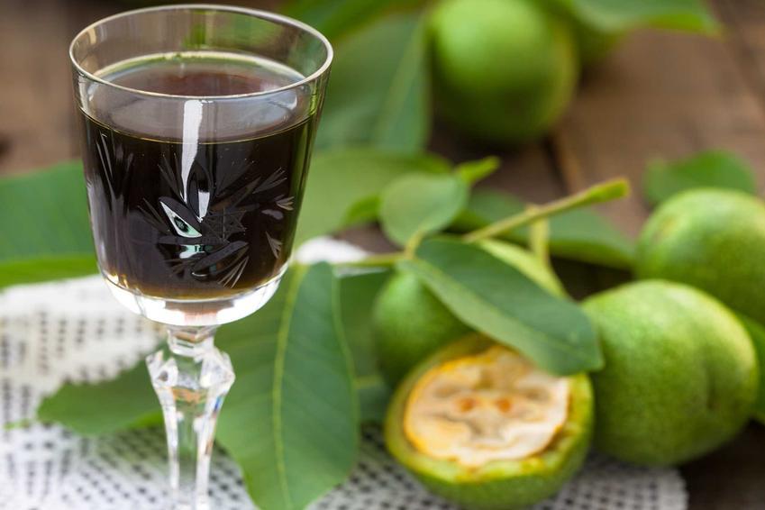 Nalewka z orzechów, czyli nalewka z orzecha włoskiego zielonego oraz przepisy na nią i właściwości prozdrowotne oraz smak