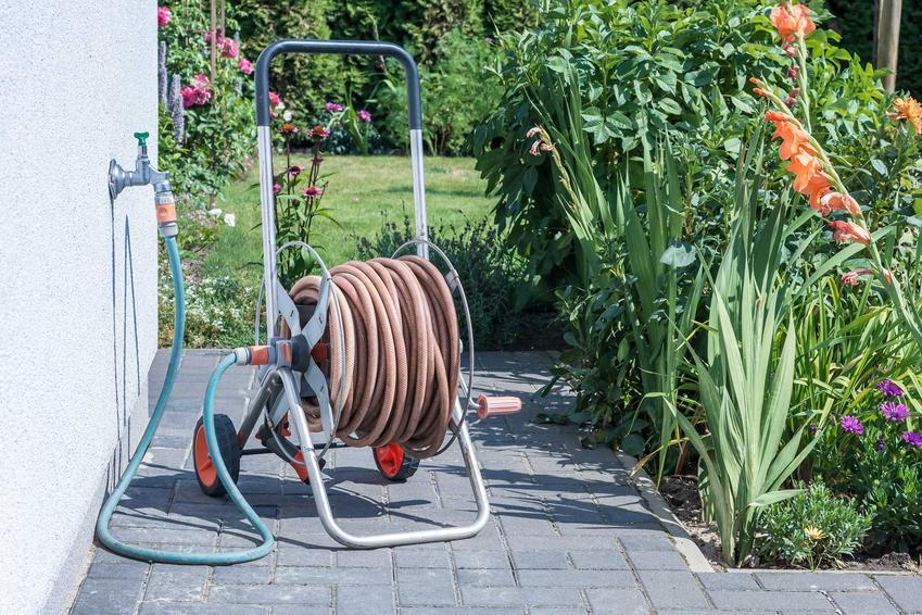 Wąż ogrodowy czy też szlauf ogrodowy do podlewania, rodzaje węży, wykorzystanie oraz polecane węże ogrodowe