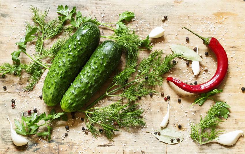 Ogórki z chili i czosnkiem podczas przygotowywania przetworów oraz najlepszy przepis na ogórki z chili