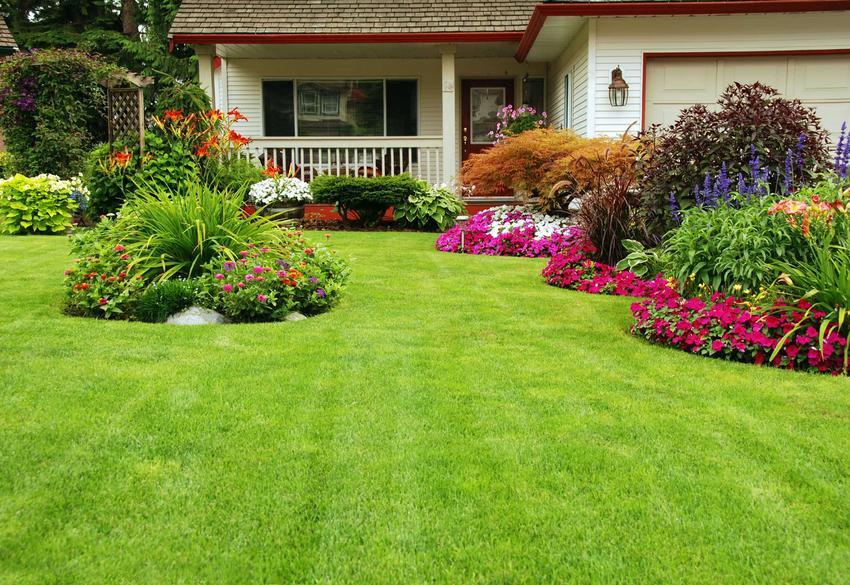 Nowoczesny ogród przed domem, czyli nowoczesne ogrody i projekty ogrodów nowoczesnych, a także aranżacje nowoczesnych ogrodów