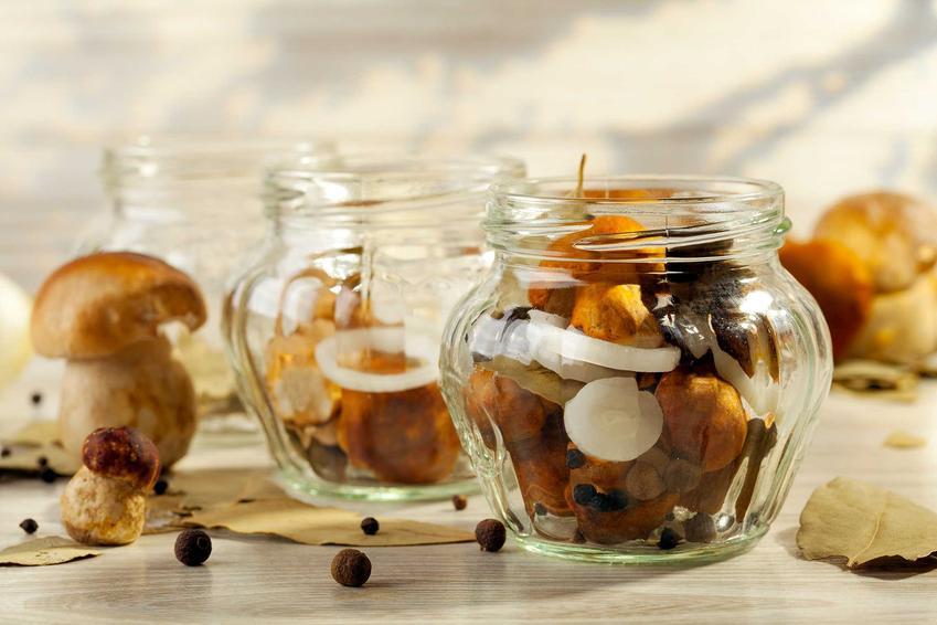 Grzyby w słoiku, czyli grzyby w occie i zalewa octowa do grzybów, a także przepis na grzyby marynowane w occie