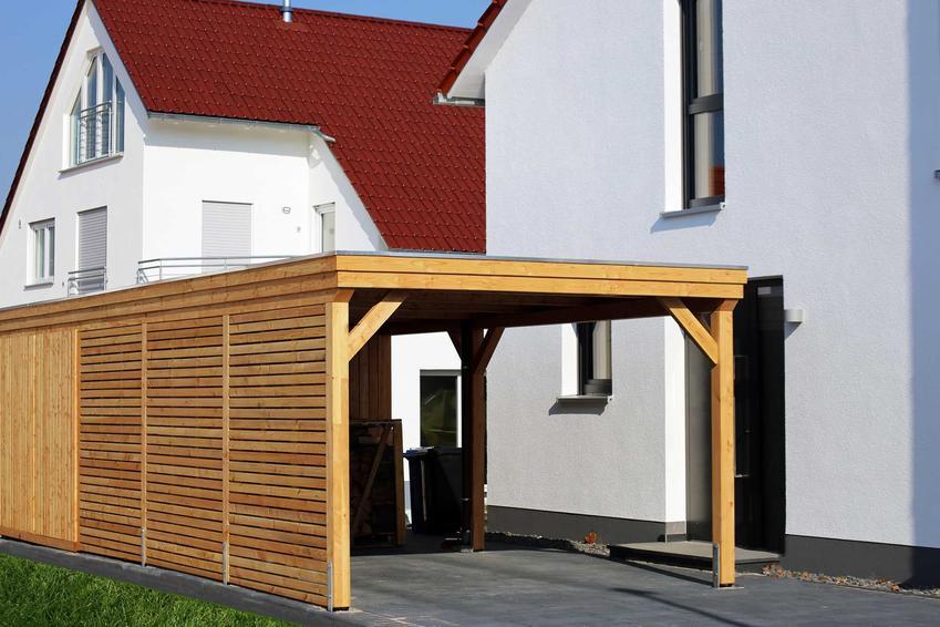Wiata na drewno czy też zadaszenie na drzewo, w tym wiata na drewno kominkowe i jej cena, montaż i rodzaje wiat