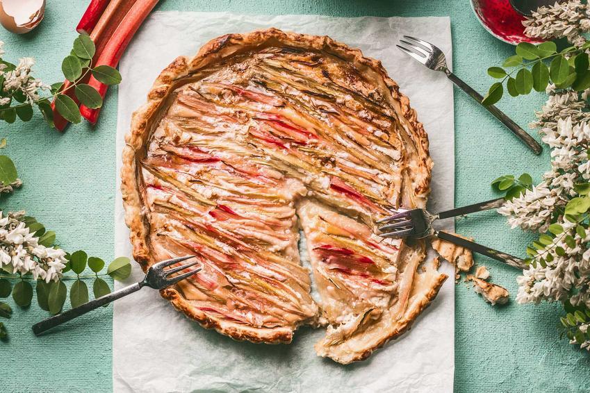 Ciasto z rabarbarem lub placek z rabarbarem w różnych wariantach, czyli najlepsze przepisy na ciasto rabarbarowe