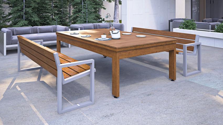 Stół ogrodowy — mebel, który nie musi być banalny