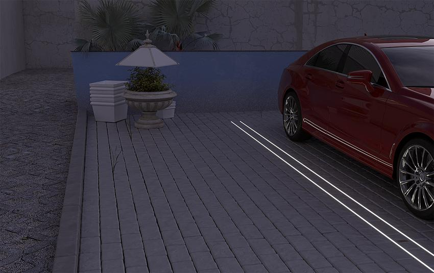Czy taśma LED może oświetlać ogród? Jaki można uzyskać efekt?