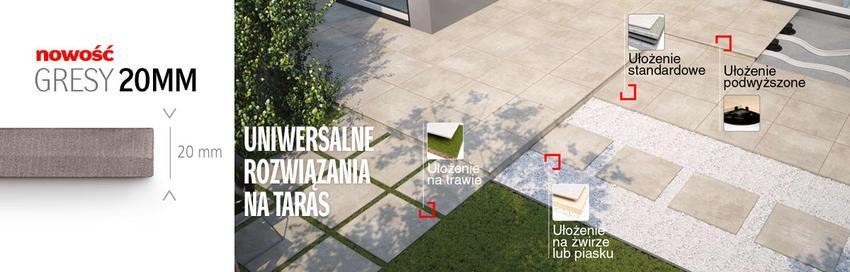 Płytki zewnętrzne na taras i balkon - jaki mrozoodporny gres będzie najlepszy?