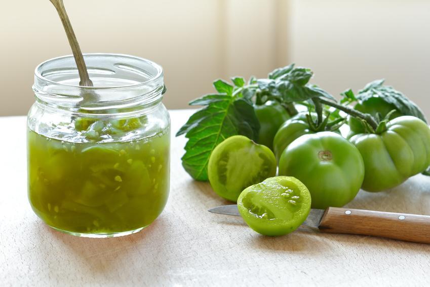 Dżem z zielonych pomidorów w słoiku, a także przepisy na konfitury z zielonych pomidorów