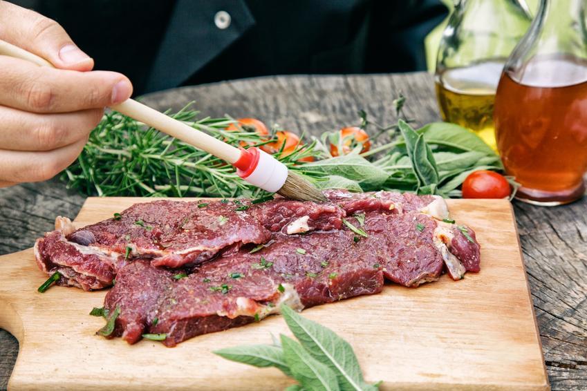 Wołowina podczas marynowania, a także marynata do wołowiny, w czym marynować wołowinę