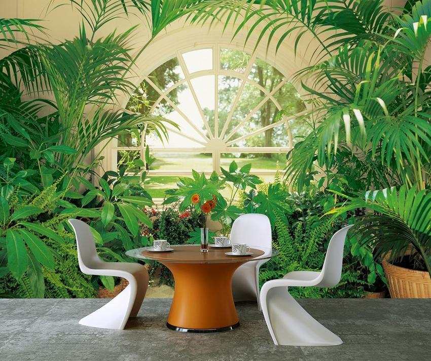 Motywy roślinne na fototapetach - jak stworzyć bajkowy ogród w mieszkaniu?