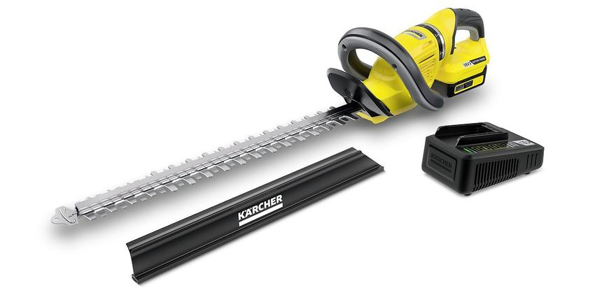 Nożyce akumulatorowe do żywopłotu Karcher HGE 18-50 Set. 1.444-241.0