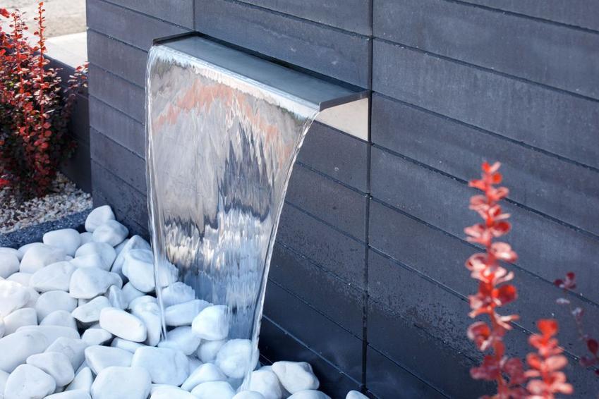 Ogrodzenie Neo, fontanna