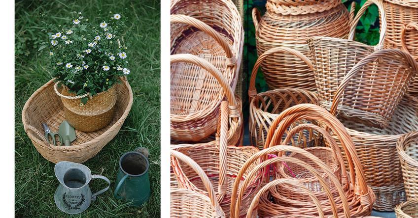 Jak zrobić ozdoby z wikliny do ogrodu?v