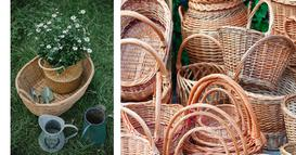 Jak zrobić ozdoby z wikliny do ogrodu?