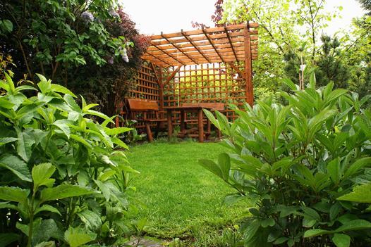 zabudowa ogrodu