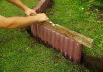 Palisady ogrodowe betonowe - cena, wymiary, montaż, układanie